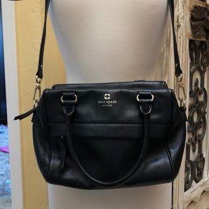 Kate Spade pebble leather crossbody satchel